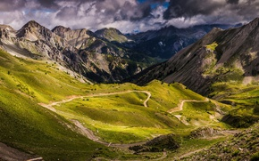 Picture mountains, France, Alps, French Alps