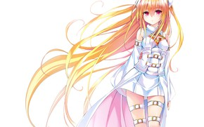 Picture Girl, Blonde, Hair, To Love Ru