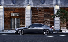 Picture the city, coupe, Hyundai, Coupe, Genesis