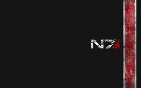 Picture logo, mass effect, shepard
