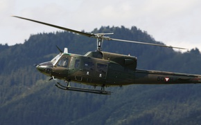 Wallpaper AB-212, Agusta-Bell, helicopter