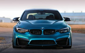 Picture BMW, Blue, Front, F80