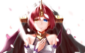 Picture look, girl, background, anime, Fate / Grand Order