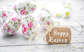 Wallpaper decoration, Easter, pastel, Easter, happy, the painted eggs, eggs, spring, flowers, flowers