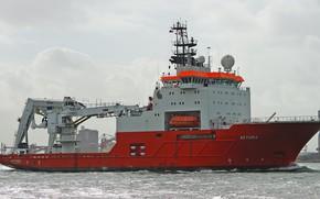 Picture sea, ship, AETHRA
