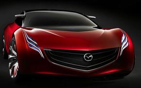 Picture Mazda, Mazda, Front, Mazda Ryuga, Concept 2007