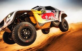 Picture Sand, Auto, Sport, Machine, Speed, Wheel, Peugeot, Red Bull, Rally, Dakar, Dakar, SUV, Rally, Sport, …