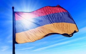 Picture Armenia, Hayastan, fliag, armenian flag