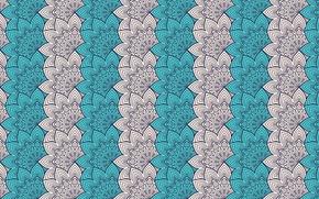 Wallpaper design, pattern, ornament, floral, mandala, design by visnezh