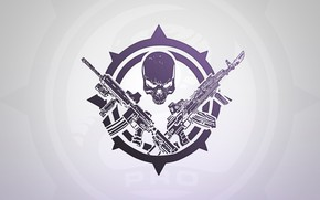 Wallpaper Hired Ops, R.2028, Skull, Weapons, BEAR, USEC, Escape from Tarkov, Tarkov, About, PRO, Russia 2028, ...
