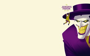 Picture Joker, the animated series, Batman: The Animated Series, Mark Hamill, Joker's favor, Service Joker