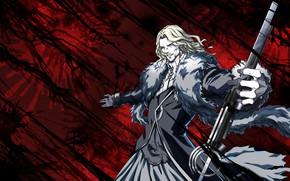 Picture smile, background, male, Fate / Grand Order