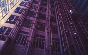 Picture house, Windows, skyscraper, glass