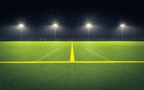 Picture lawn, lighting, Playground, stadium
