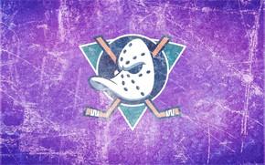 Picture ice, emblem, duck, Anaheim Ducks, Anaheim, Mighty Ducks, the mighty ducks, stick, anaheim, hockey mask, …