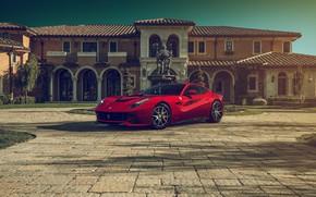 Picture Ferrari, Front, Supercar, Berlinetta, F12, Luxury, Wheels