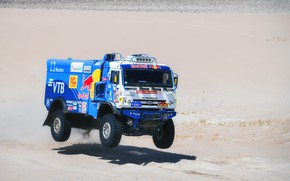 Picture Sand, Sport, Speed, Truck, Master, Russia, Kamaz, Rally, Dakar, KAMAZ-master, Dakar, Rally, KAMAZ, 507, The …