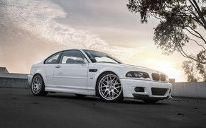 Picture BMW, White, E46, Bummer