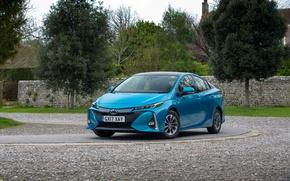 Picture Blue, Toyota, Car, Prius, 2017, Metallic, Plug-in Hybrid
