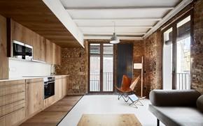 Picture design, style, interior, kitchen, Born Apartments