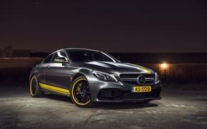 Picture Mercedes, AMG, Coupe, Night, C63, Edition 1