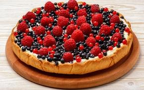 Picture Berries, Food, Raspberry, Cakes, Blueberries, Pie