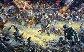 Wallpaper Gas mask, barbed wire, WWI, Attack Of The Dead, Russian Imperial army, The German Imperial ...