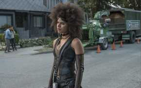 Picture Deadpool, Domino, Zazie Beetz