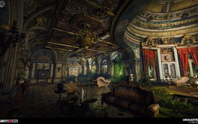 Picture luxury, the room, arch, Uncharted 4, Averys Palace