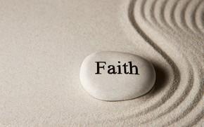 Picture sand, stone, stone, sand, faith, zen