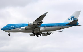 Picture Boeing, KLM, 747 PH-BFY