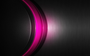 Picture metal, pink, carbon, pinked