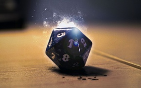 Picture Dungeons & Dragons, Dice, Roll, Role playing, D&D, d20, Dice d20, DnD