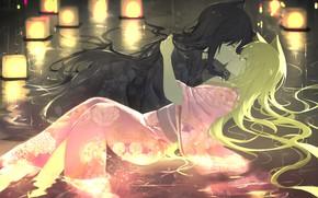 Picture kiss, anime, art, Konohana Kitan