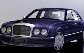 Picture Bentley, Arnage, sedan