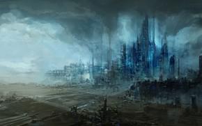 Picture the city, plant, art, haze, ChrisCold