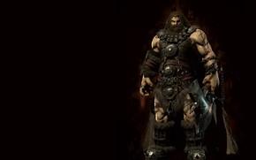 Picture fantasy, art, ssuny hwang, Dwarf 3D normal modeling