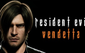 Picture game, Resident Evil, man, Leon Scott Kennedy, Leon S. Kennedy, Resident Evil Vendetta, Biohazard Vendetta