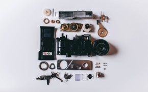 Picture The camera, Mechanism, Details, Hi-Tech