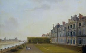 Picture oil, picture, canvas, Joseph Augustus Knipe, The Batavian Embassy in Paris