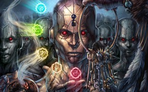Picture keys, chakra, by NMEZero, Opening the Gateways to Inspiration, Open your chakras on the inspiration