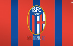 Picture wallpaper, sport, logo, football, Italia, Bologna, Serie A