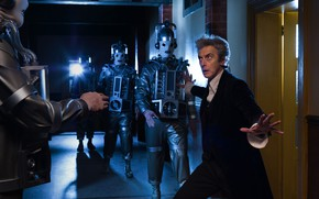 Picture corridor, Doctor Who, Doctor Who, The Cybermen, Peter Capaldi, Peter Capaldi, Cybermen, The Twelfth Doctor, ...