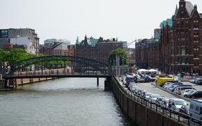 Picture Bridge, River, Germany, Hamburg, Bridge, Germany, River, Hamburg