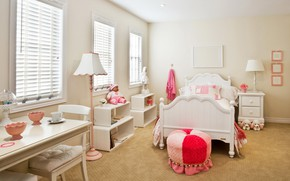 Picture room, toys, bed, bedroom, children's