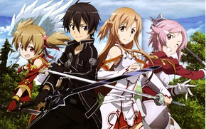Picture light, weapon, anime, pretty, asian, warrior, manga, japanese, Sword Art Online, oriental, asiatic, sugoi, SAO, …