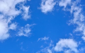 Picture clouds, nature, The sky, clear weather