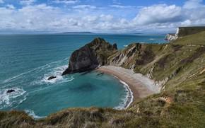 Picture sea, nature, coast