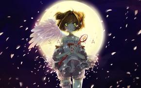 Picture angel, girl, Card Captor Sakura, Sakura - collector cards