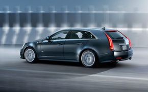 Picture Cadillac, CTS-V, Sport, universal, Wagon